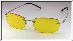 Федоровские очки для водителя AD014  titanium серый